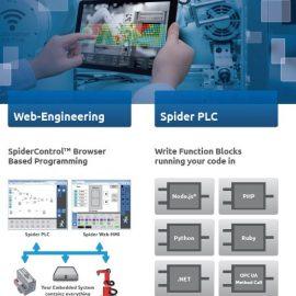 SpiderPLC – Programmierung im Browser als DRITTE PROGRAMMIEREBENE.